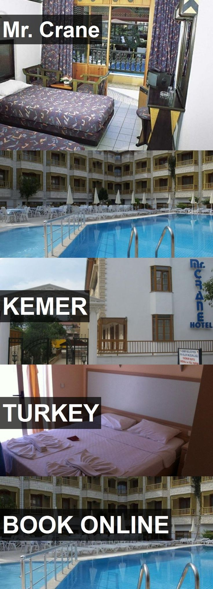 Hotel Mr. Crane in Kemer, Turkey. For more information, photos, reviews and best prices please follow the link. #Turkey #Kemer #travel #vacation #hotel