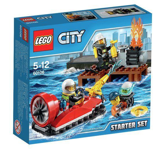 Buy LEGO City Fire Starter Set - 60106 at Argos.co.uk, visit Argos.co.uk to shop online for LEGO, LEGO and construction toys, Toys