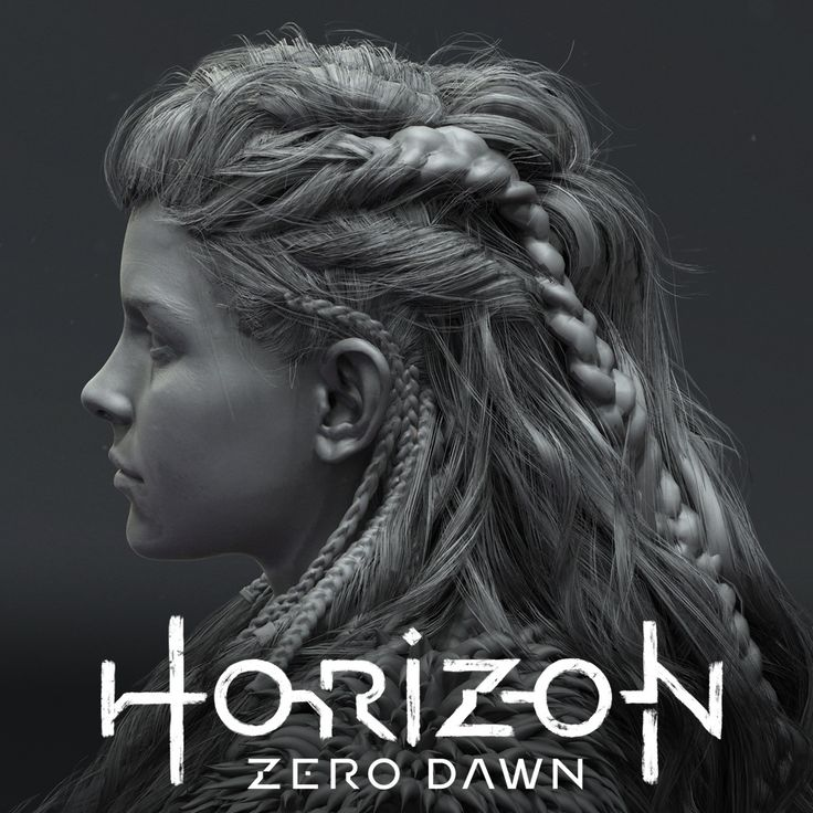 Horizon Zero Dawn - Lithvall. Aloy hair references.