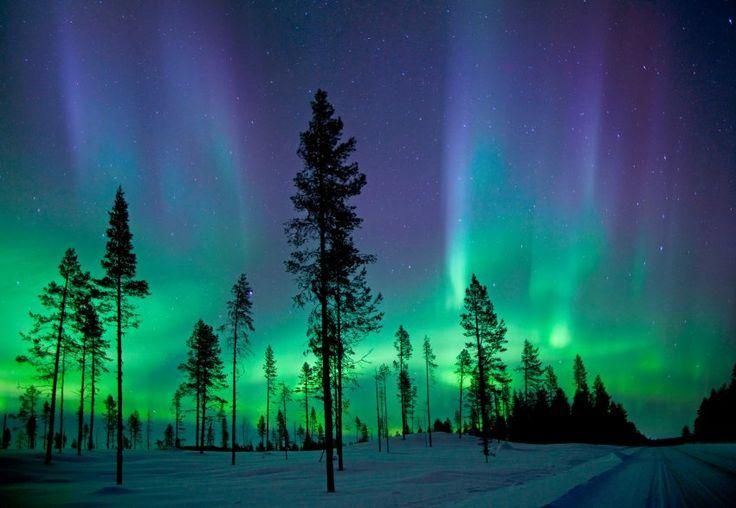 """Polarlichter im schwedischen Kiruna: """"Erneuere deine Beziehung mit dem Ort, den..."""