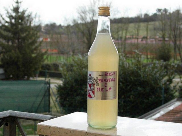 Liquore di Zenzero e mele