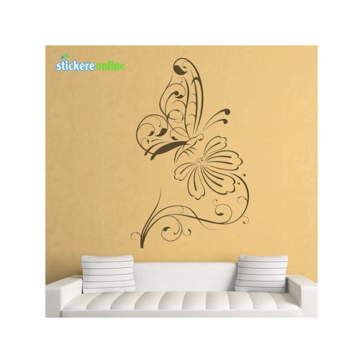 Promotia Iernii pe stickereonline.ro  50% reducere la stickerele decorative  http://www.stickereonline.ro/stickere-decorative-fluturi/255-colant-decorativ-cu-fluture-pe-floare.html