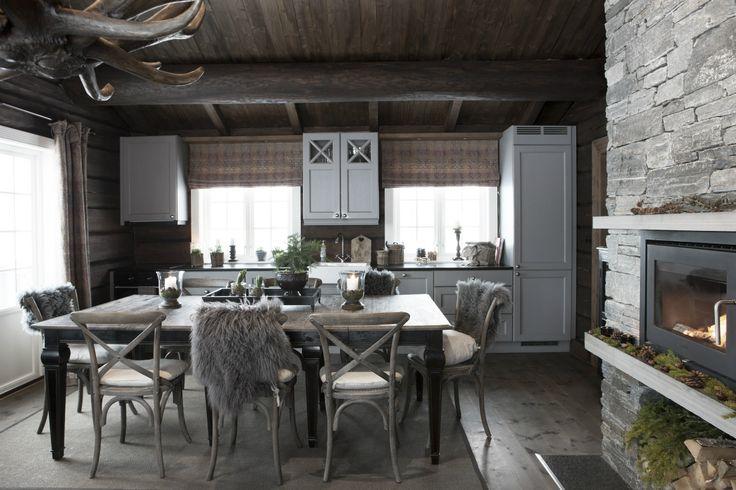 Bilder hovedhytte - www.hyttehafjell.com