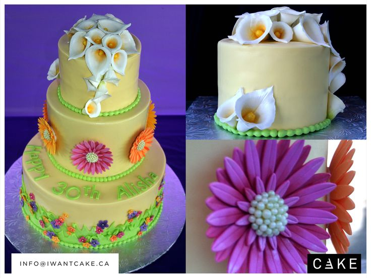 Special event and wedding cakes in custom design and any number of tiers. Please contact us for your event custom order. info@iwantcake.ca