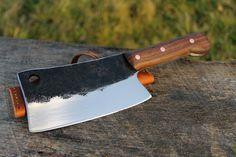 Cuchillo forjado a mano: hecho por encargo por NateRunalsBlacksmith