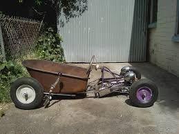 Resultado de imagen para wheelbarrow go-kart rat rods