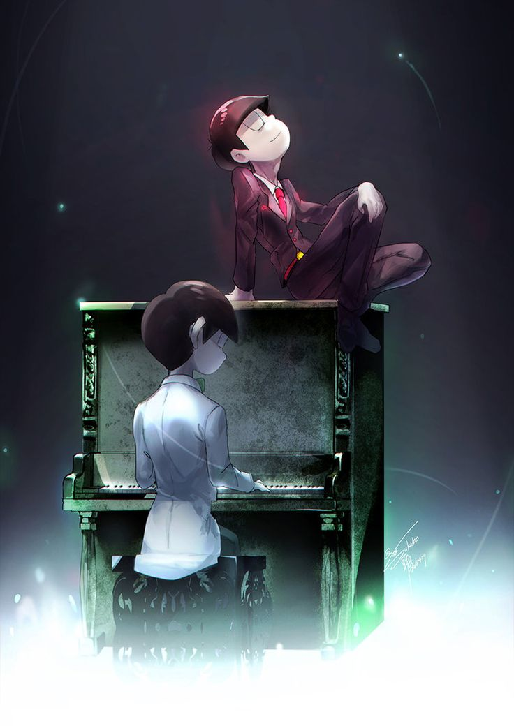 Pianist Choro ||| Choromatsu and Osomatsu ||| Osomatsu-san Fan Art by Goditsuka on DeviantArt
