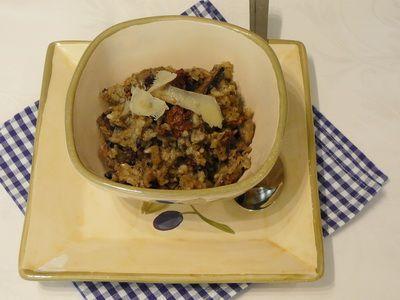 Gombás rizottó recept