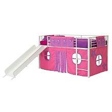 "DHP - Curtain Set For Kid's Bed, Pink - Toys""R""Us"