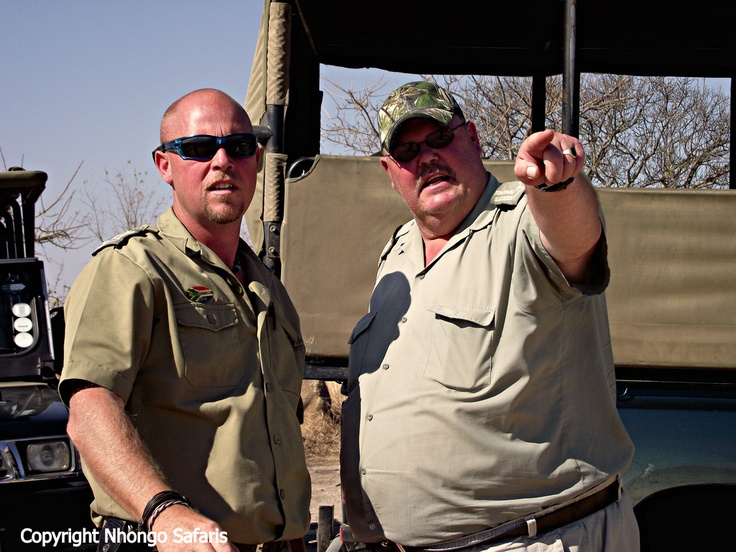 Checking out a cheetah from Kanonkop