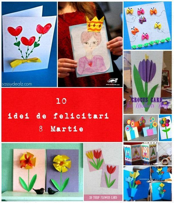 10 idei, felicitari de 8 Martie