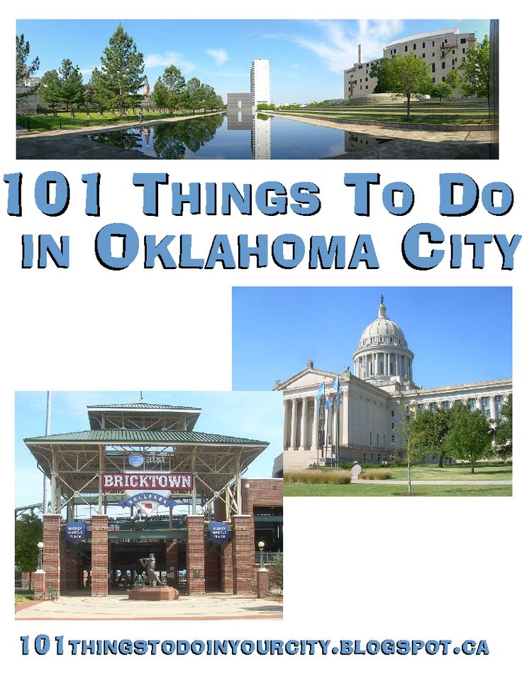 Not matter the time of year, there's plenty of fun to be found in #Oklahoma City!   What activities are your favorite?
