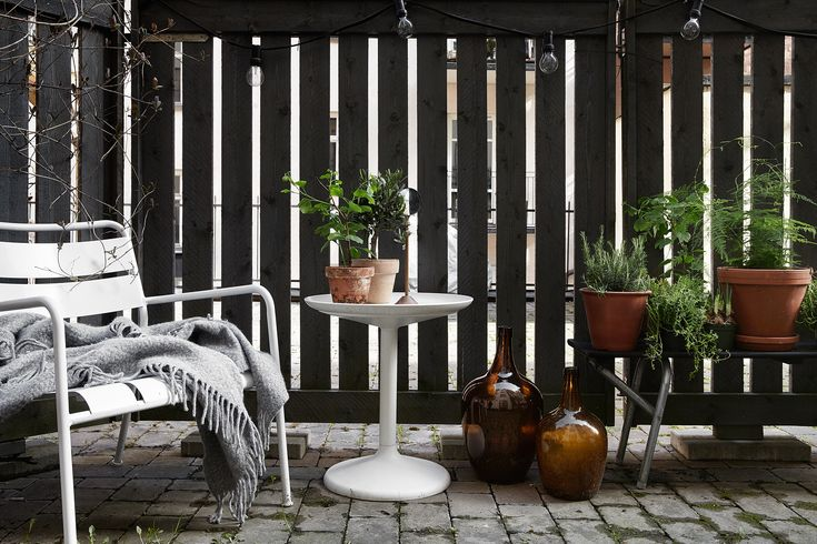 green plants Bjurholmsplan 27, med egen uteplats, Södermalm, Stockholm | Fantastic Frank