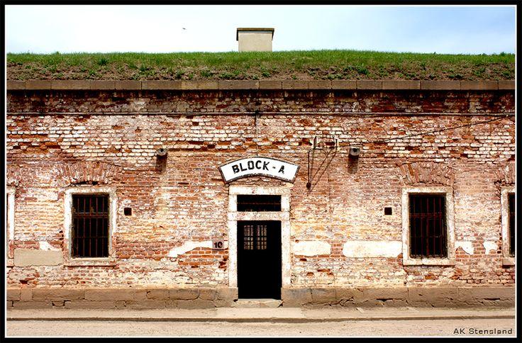 Foto: AK Stensland, Block-A i konsentrasjonsleiren Theresienstadt i Tsjekkia