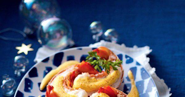 Recette queues de langouste au sabayon de monbazillac - Cuisine et Vins de France