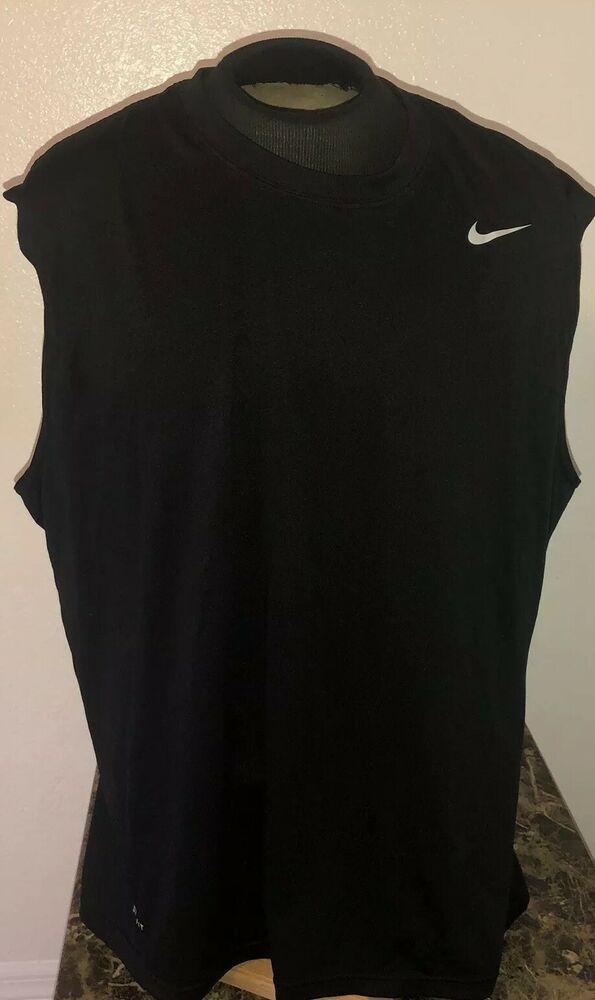 8cceb01b Nike Dri Fit Mens Athletic Tank Top Loose Fit Shirt Lot Sz XXL Black 2XL    eBay