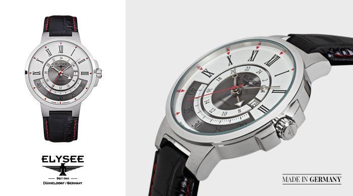Zegarek Elysee Marathon z kolekcji Classic. Sprawdź, gdzie można kupić nasze zegarki: http://bit.ly/Sklepy_Elysee
