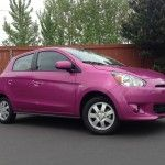2014 Mitsubishi Mirage ES road test