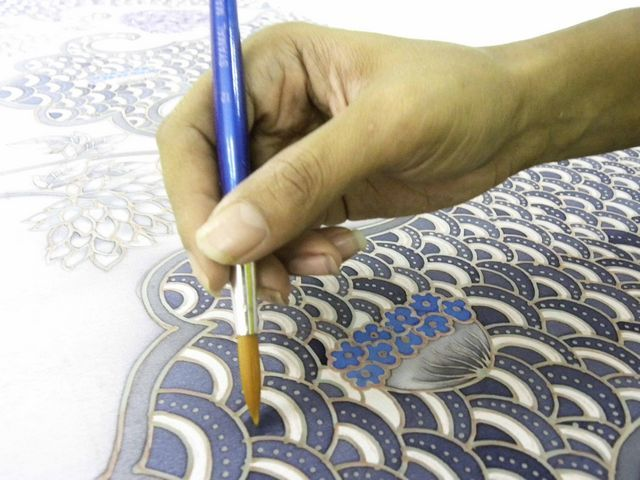 You can find information on our BATIK Sarong  Clothing Collection! coloring process