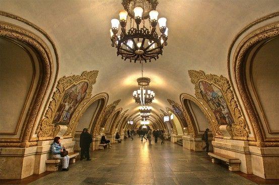 Moscow Metro - Kievskaya