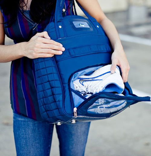 Work It While You Work Out: 17 Chic Gym Bags via Brit + Co.