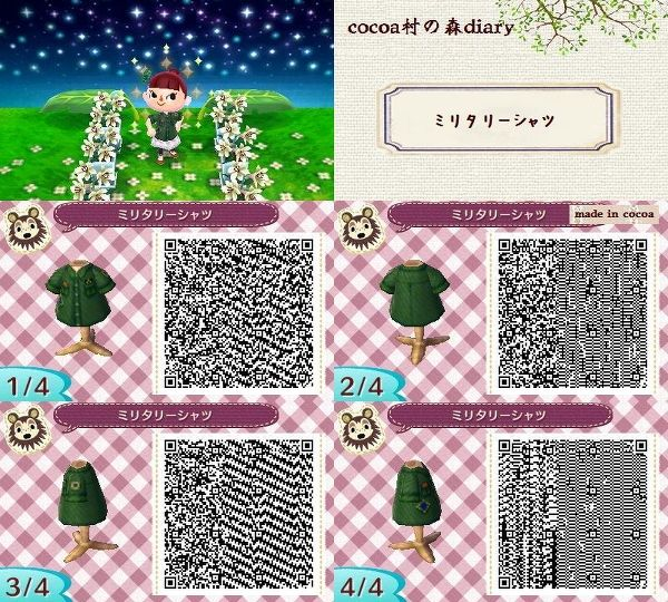53 best images about animal crossing new leaf qr codes on for Animal crossing new leaf arredamento