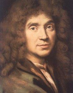 Molière. Dramaturge et comédien français qui a vécu au XVIIe siècle. Il a renouvelé la comédie. Il a inventé la comédie-ballet avec Jean-Baptiste Lully.
