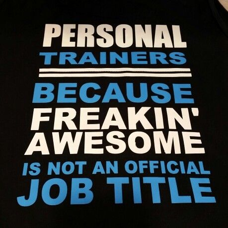 Personal Trainer...Job Title