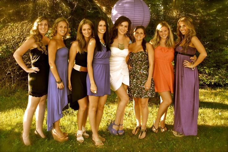 Bride & Bridesmaids - Engagement Party