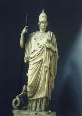 Athena (Roman - Minerva) - goddess of wisdom Greek Mythology