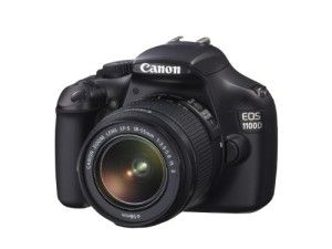 Canon EOS 1100D EF-S IS II Lens 12MP SLR Camera 2.7 inch LCD – Black