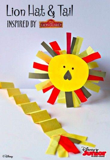 Lion Crafts Preschool
