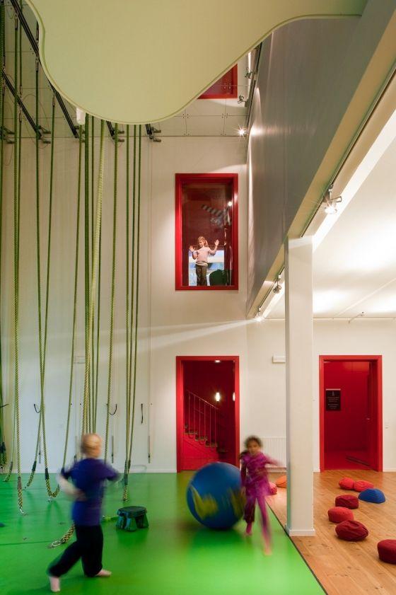 Nicolai Cultural Center w Kopenhadze by Kolding de Dorte Mandrup Arkitekter