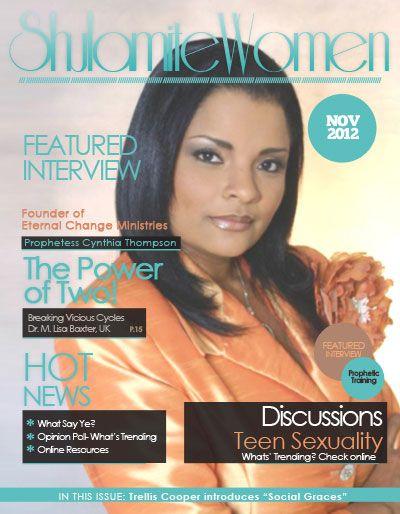 Prophetess Cynthia Thompson: Eternal Change Ministries ...