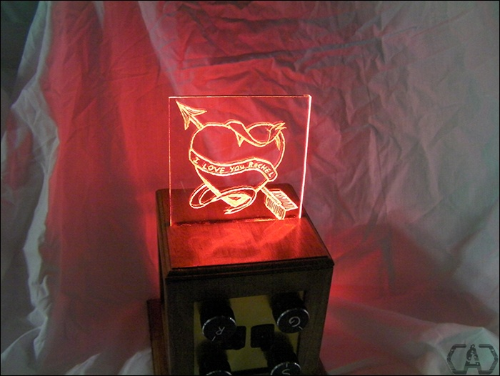 Valentine's Day RGB LED Mixer by Will Lyon.: Valentine'S Day, Valentines Day, Valentine'S S