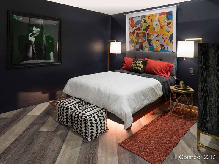 boutique guestroom vignette at designed by inkwell design house in houston tx photo credit hi connect