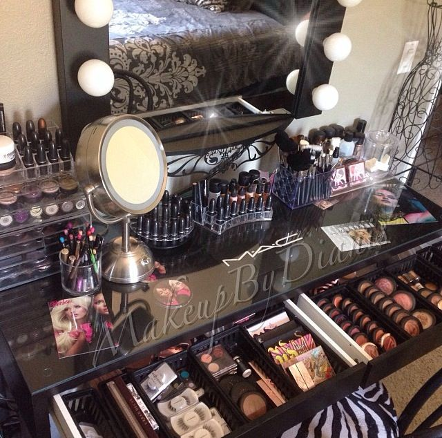 The Ultimate Makeup Supply - Makeup Vanity