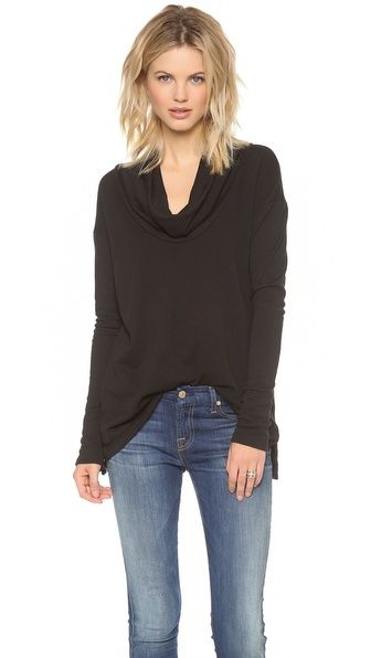 James Perse french terry tunic. Would wear this pretty much every day.: Cowl Neck, Perse Oversize, James D'Arcy, James Perse, Cowls, Tunics, Oversize Cowl