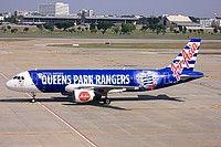 AirAsia Queens Park Rangers aircraft