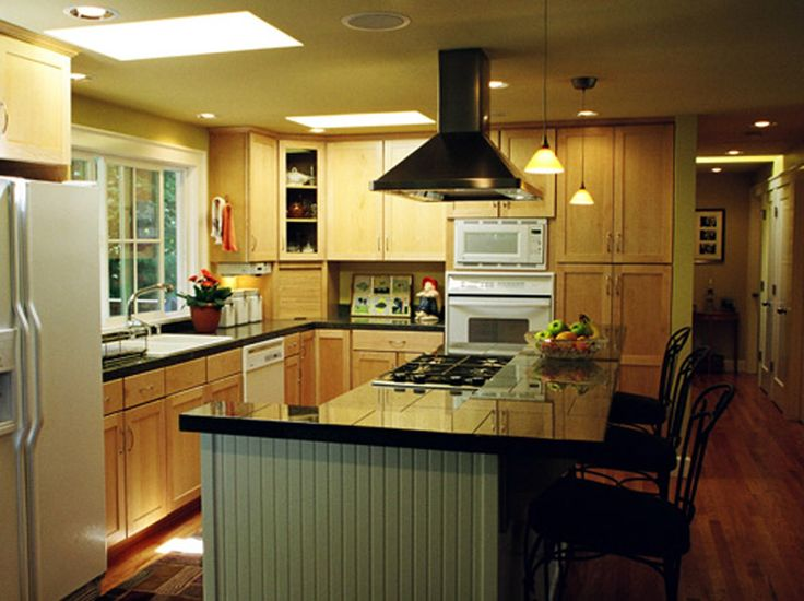 10 best images about open kitchens on pinterest kitchen for Split entry remodel