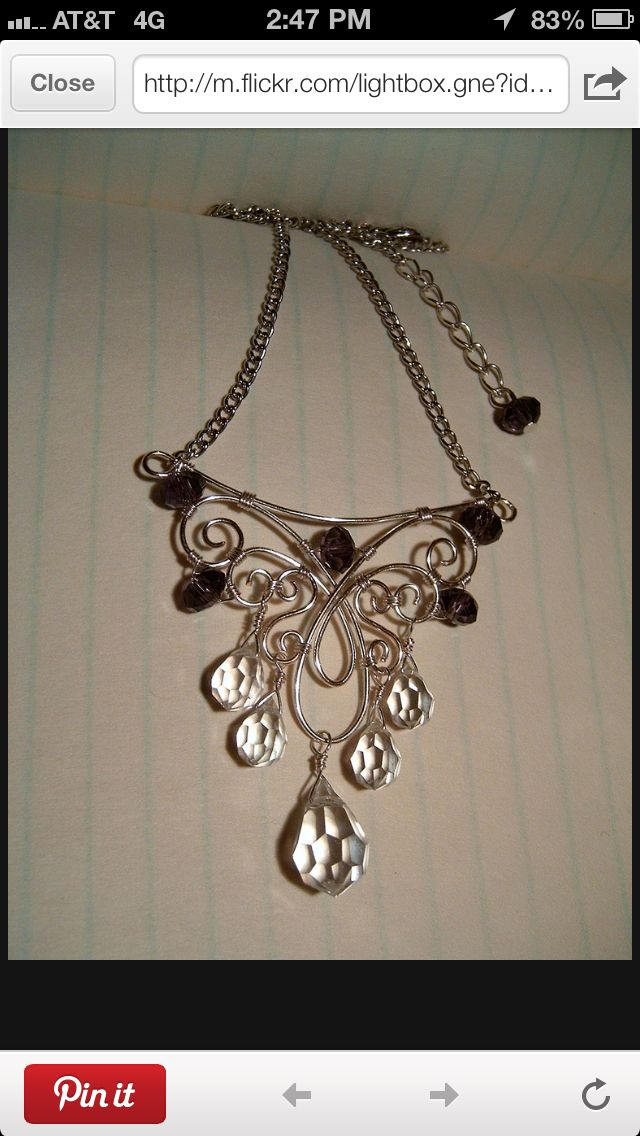 Magnificent Wire Necklace T Photos - Electrical and Wiring Diagram ...