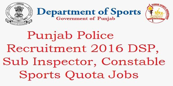 Highlight of ContentsPunjab Police Recruitment 2016Punjab Police Constable Notification 2016Eligibility Criteria Punjab Police Recruitment 2016: Punjab police department and department of Sports Government of Punjab have collaboratively have released an notification for the recruitment of 289 Constable. The total vacancies to be filled by the Punjab Police Department will be 1289. The Official Notification before …