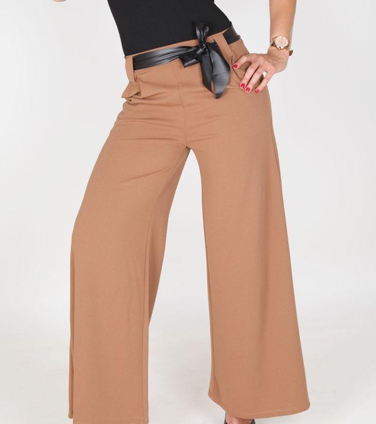 Pantalones a lo grande! #look cómodo y con #estilo #palazzopants