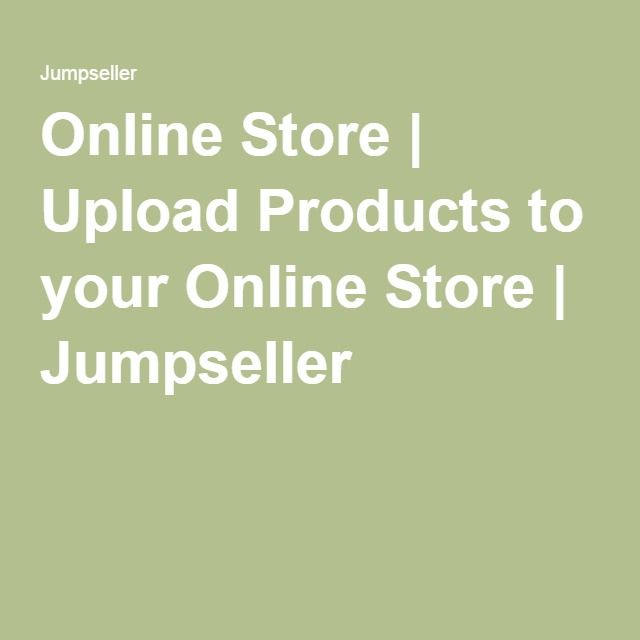 Online Store | Upload Products to your Online #Store | Jumpseller