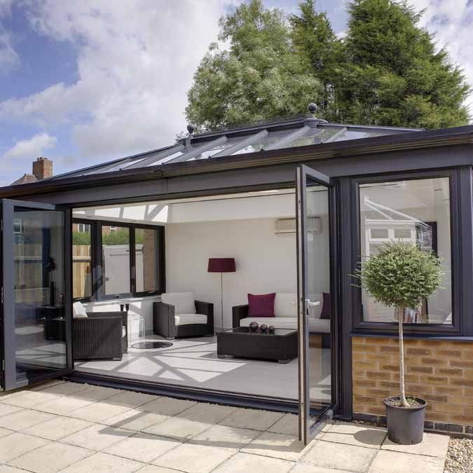 London Conservatories Company Aluminium And Upvc Available Orangery Modern Conservatory Conservatory