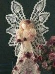 Heavenly Pineapple Angel Site is free to join, then can download the pattern. #crochet #angel #christmas