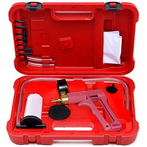 Biltek 2 In 1 Brake Bleeder & Vacuum Pump Gauge Test Tuner Kit Tools DIY Hand Tools New Auto Hand Held Brake Bleeder & Vacuum Pump Gauge Test Tester Tuner Tool Kit Set. For product info go to:  https://www.caraccessoriesonlinemarket.com/biltek-2-in-1-brake-bleeder-vacuum-pump-gauge-test-tuner-kit-tools-diy-hand-tools-new-auto-hand-held-brake-bleeder-vacuum-pump-gauge-test-tester-tuner-tool-kit-set/