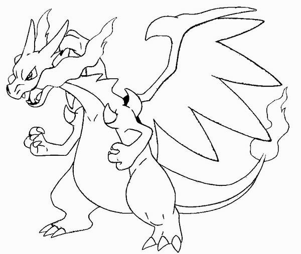30 Mega Dracaufeu Y Coloriage Inspirant Bathroom Pokemon