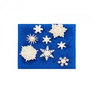 First Impressions Molds Silicone Mould - Snowflakes Golda's Kitchen