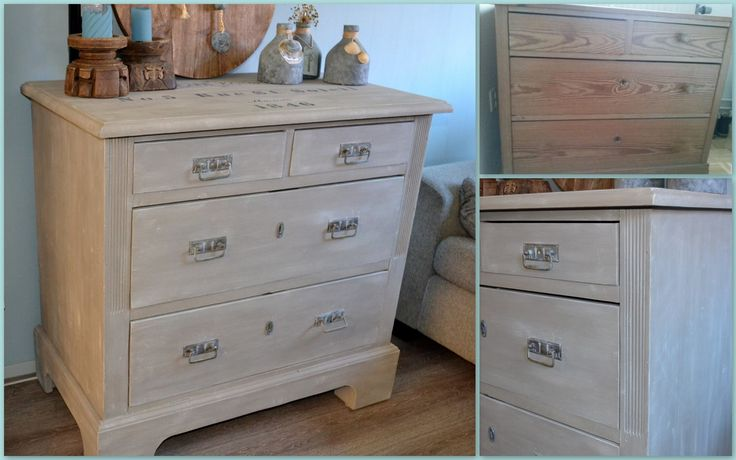 Hallo, ik heb weer een project af...De ladekast met Dry Brush techniek bewerkt...kleuren: Paris Grey, Old White en French Linnen...Geweldig om te doen. Groetjes, Schoone Brocante Styling Beata